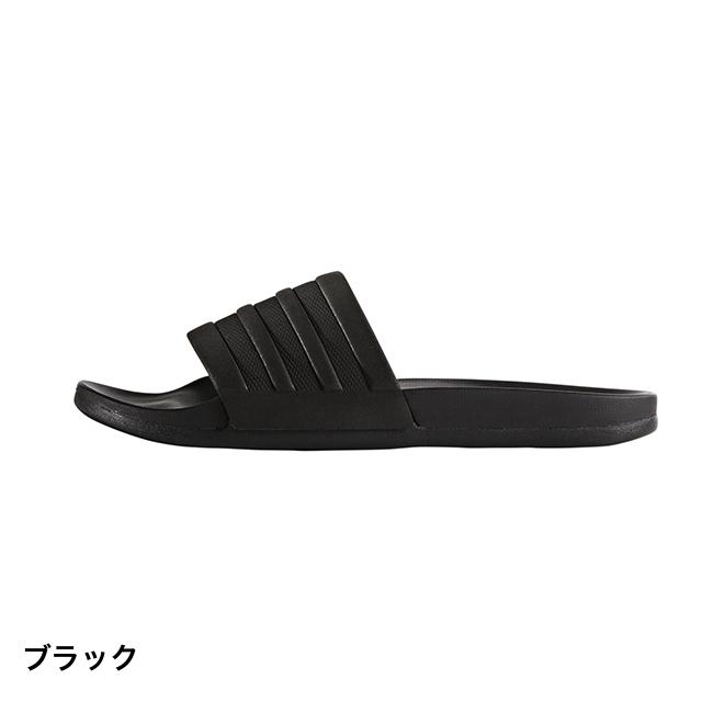 アディダス アディレッタ クラウドフォーム モノ (S82137) シャワーサンダル ADILETTECFMONO : ブラック adidas 191011shoes dealshoes