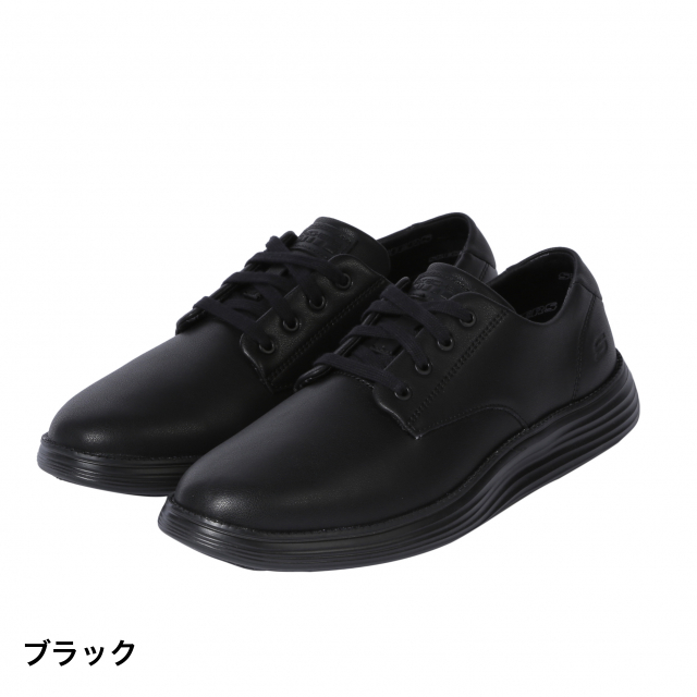 skechers black walking shoes