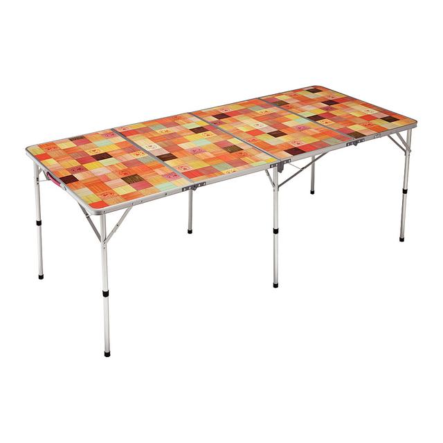 コールマン ナチュラルモザイクリビングテーブル/180プラス (2000026749) キャンプ テーブル Coleman