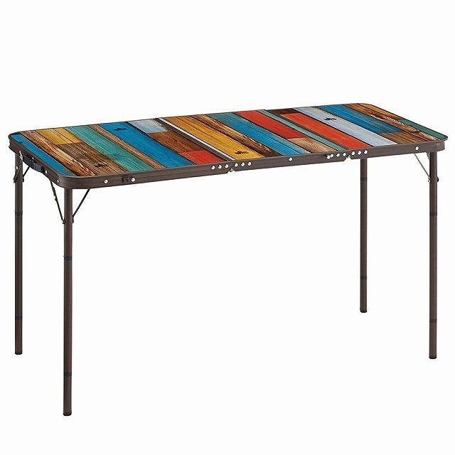 ロゴス グランベーシック 丸洗い3FDスリムテーブル (73200021) キャンプ テーブル LOGOS