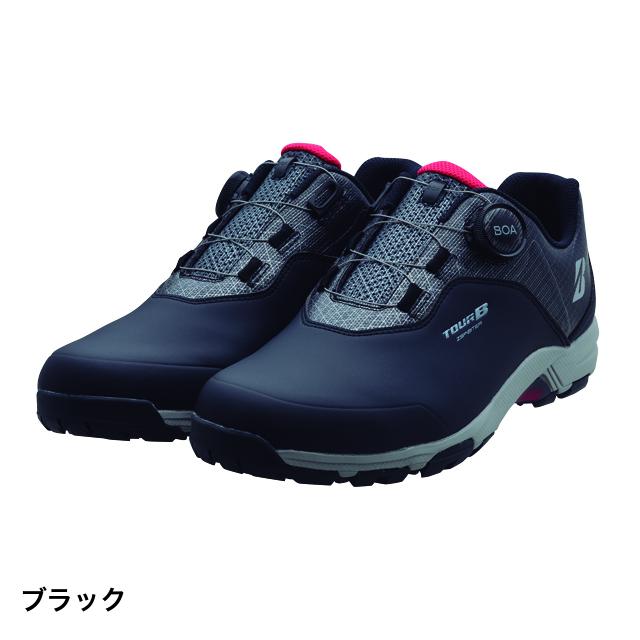 ブリヂストン ゴルフシューズ ゼロスパイク バイターライト SHG950 (SHG950 BK) メンズ ゴルフ ダイヤル式スパイクレス: ブラック BRIDGESTONE