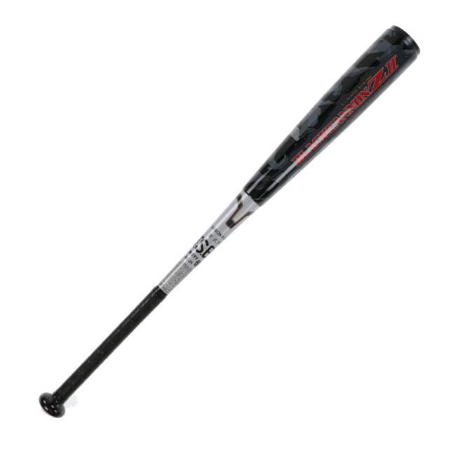 ゼット ZETT 軟式野球 バット 軟式カーボンバット ブラックキャノンZII 軽量モデル BCT35914
