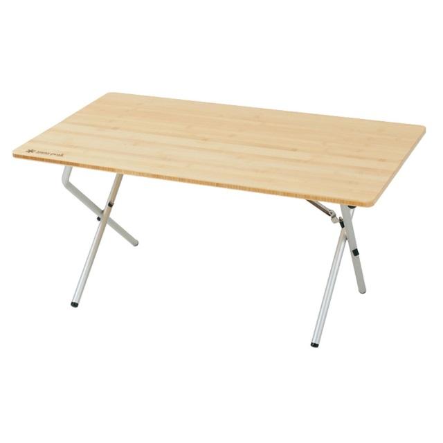 スノーピーク(snowpeak) テーブル ワンアクションローテーブル 竹 (LV 100T)