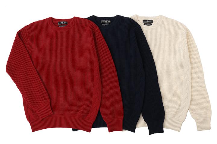 《送料無料》カシミヤセーター■1897年創業アルファー【ALPHA】日本製カシミヤ100%メンズ・クルーネックセーターLLサイズ