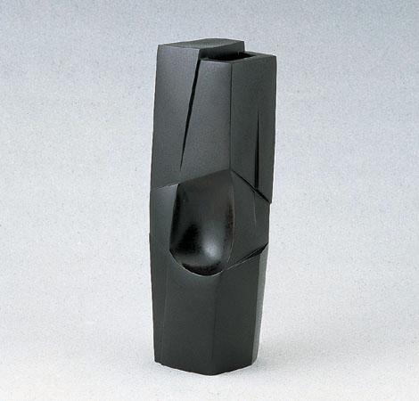 花瓶/「和風」銅製 可西泰三作 93-53