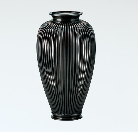 花瓶/「透し夏目」99-52