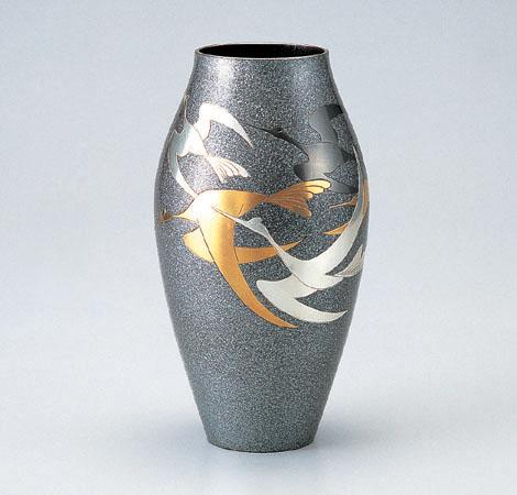 花瓶/細壷形「千羽鶴」102-58