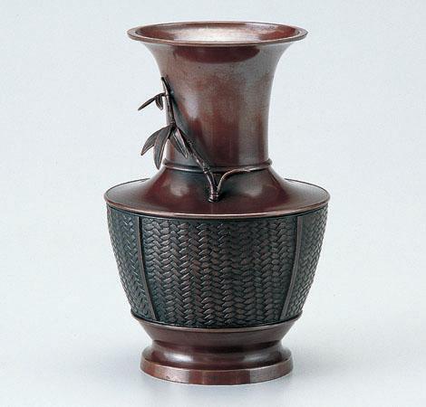 花瓶/網代「竹」106-56