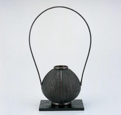 花瓶/「玉形網代」106-52