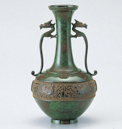 花瓶/「竜耳瑞鳥」106-55