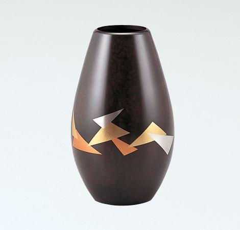 花瓶/蒔絵「折ヅル」108-54