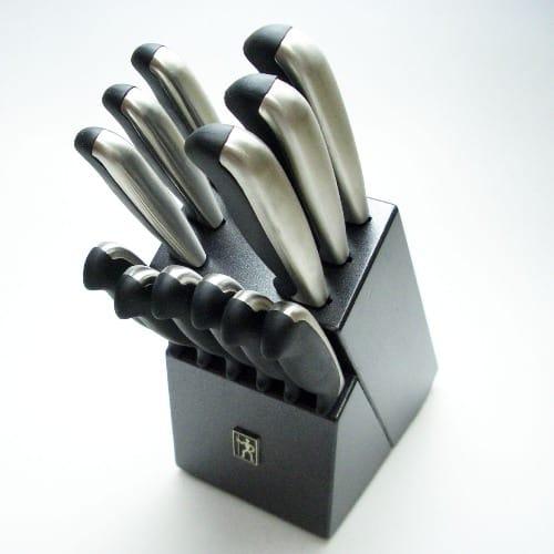 ヘンケル ナイフ 包丁 13点セット ブロック付 黒ブラック ドイツHenckel 13 piece super nife block set
