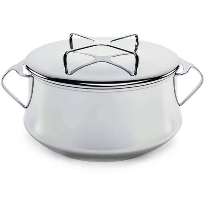 ダンスク コベンスタイル 両手鍋 ステンレス 直径23cm 3.8L Dansk Kobenstyle Stainless Steel Casserole Pot with Lid, 4 Quart