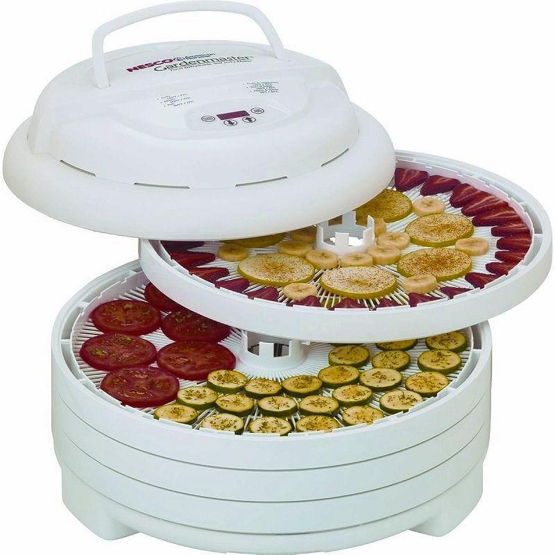 ローフード ディハイドレーター 食品用電気乾燥機 48時間タイマー付 ネスコ ビーフジャーキー ドライフルーツメーカー 簡単に干物 一夜干しも数時間でOK Nesco FD-1040 Gardenmaster Food Dehydrator 家電