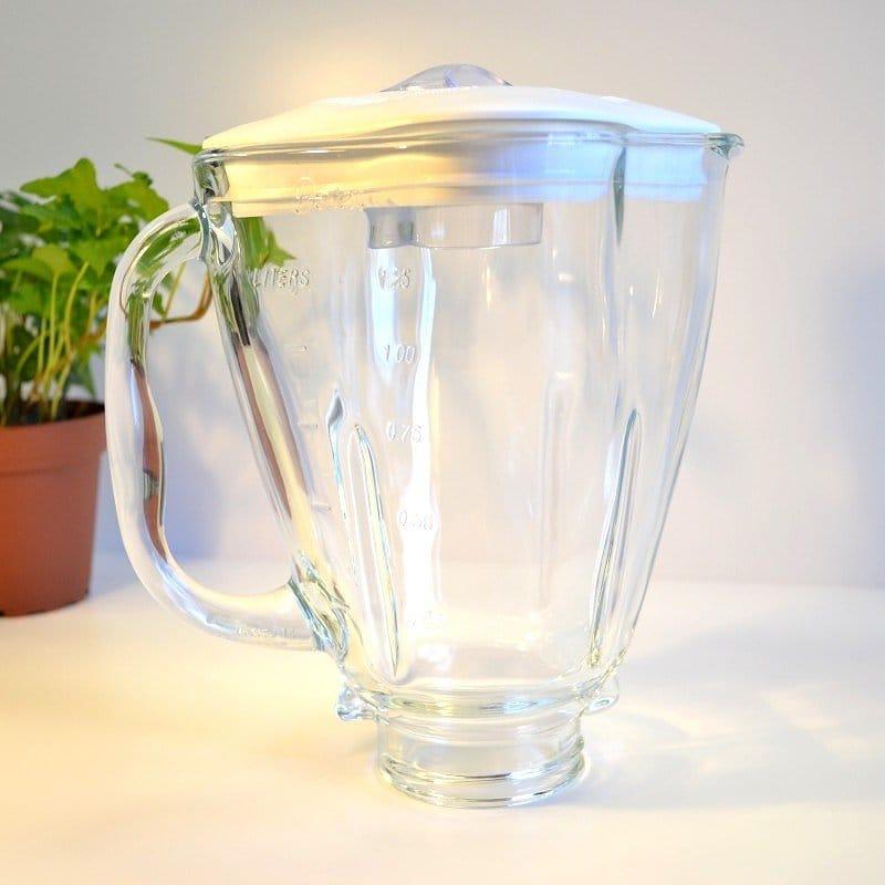 オスター オスタライザー ブレンダー ミキサー パーツ クローバー型 ガラスジャー クローバートップ キャップ セット Oster Clover Glass jar