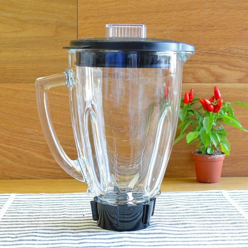 オスター オスタライザー ブレンダー ミキサー パーツ ラウンド型 ガラスジャー トップラックセット Oster round glass jar set