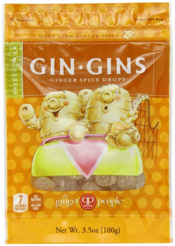 ジンジャーピープル ジンジン ジンジャースパイス ドロップ 飴2袋セット 生姜 ショウガ 約99グラム×6