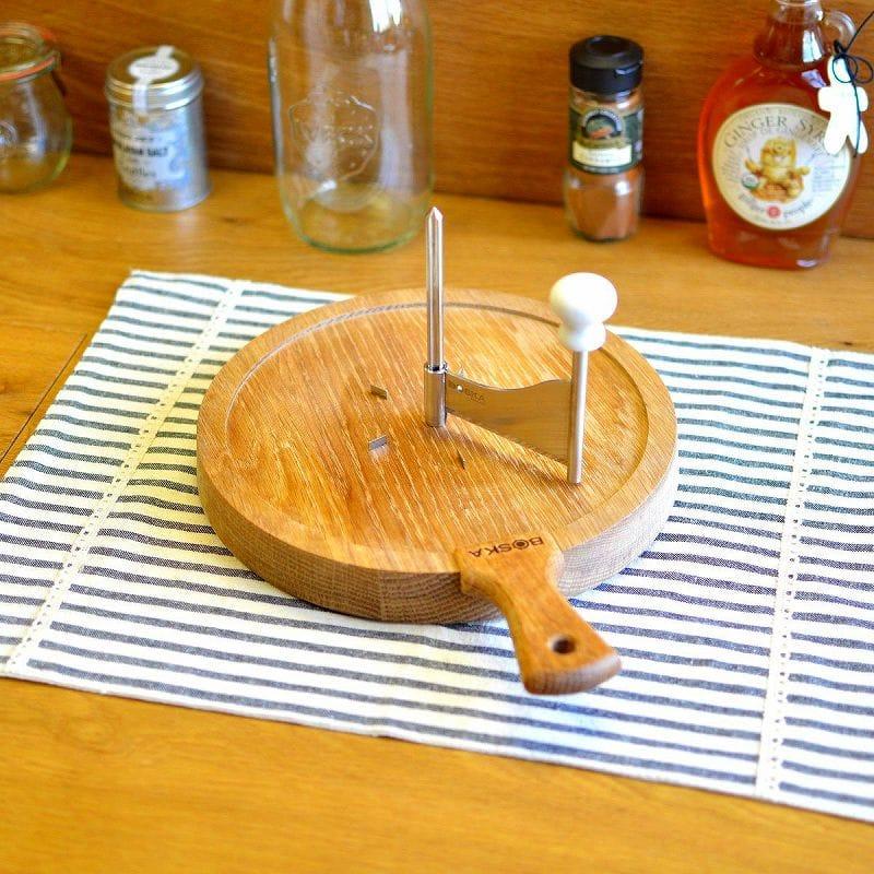 ボスカ Boska チーズカーラー Steel ジロール オーク Boska Holland Life Collection Life Wood and Stainless Steel Cheese Curler 320108, U-TREASURE(ユートレジャー):094c7988 --- mail.ciencianet.com.ar