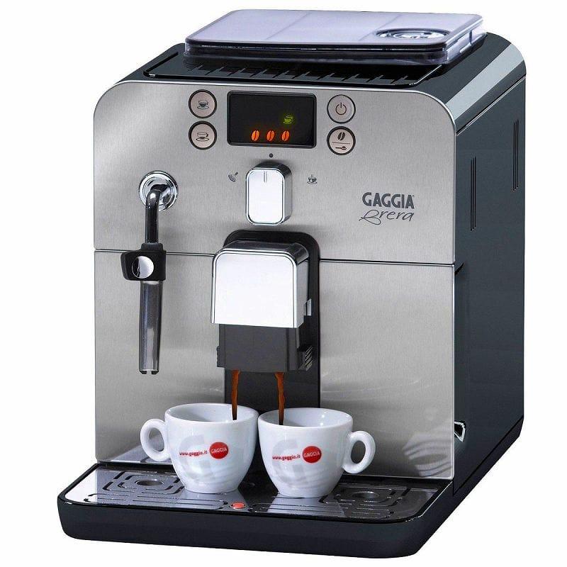 エスプレッソマシン ガジア オートマチック 自動 カプチーノメーカー ブラック 黒 Gaggia Brera Superautomatic Espresso Machine Black 59101 家電