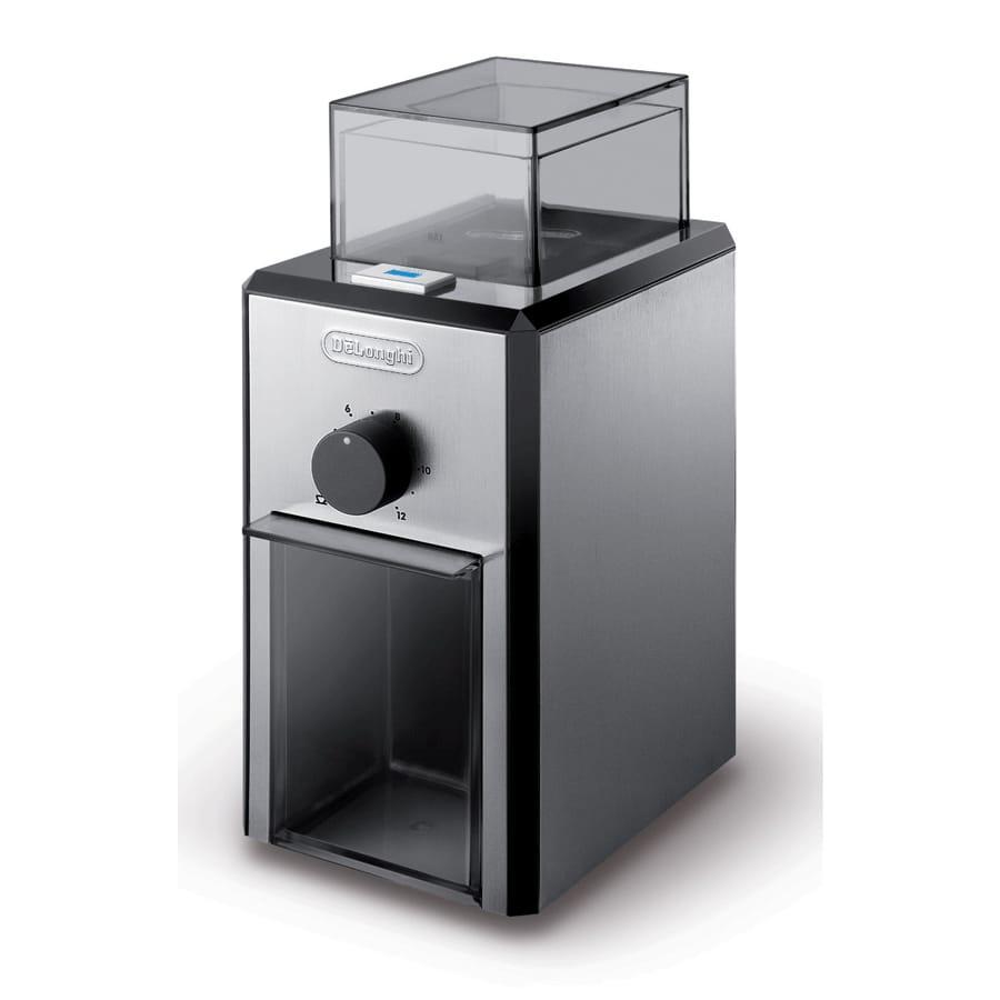 デロンギ 電動コーヒーグリンダー 豆挽き DeLonghi Stainless Steel Burr Coffee Grinder with Grind Selector and Quantity Control 家電