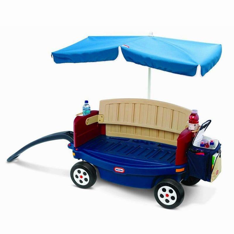 デラックスライド&リラックスワゴン 傘付 Little Tikes Deluxe Ride and Relax Wagon with Umbrella