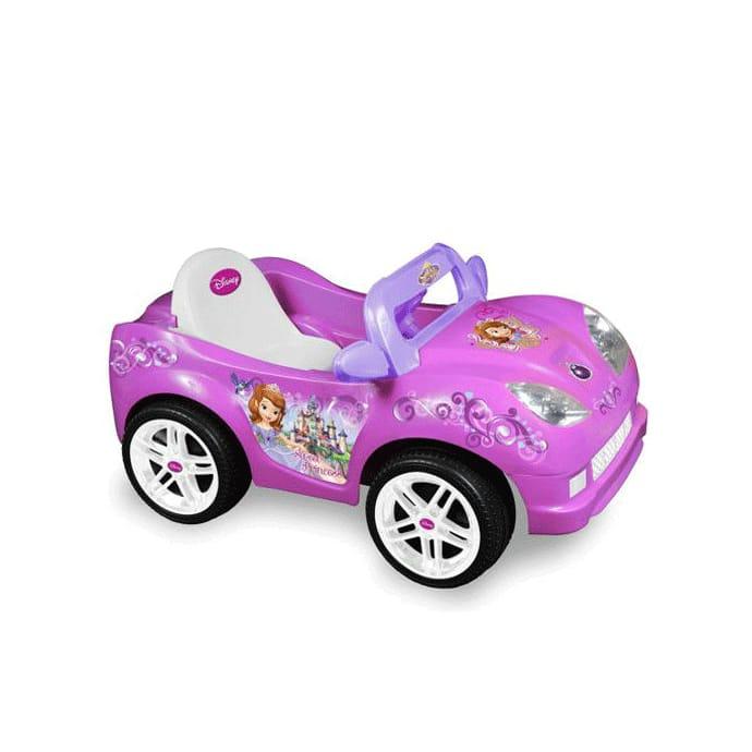 【組立要】ディズニーソフィア ファーストコンバーチブルカー 電動自動車 6Vバッテリー付 電気自動車 電動カー Disney Sofia the First Convertible Car 6-Volt Battery-Powered Ride-On