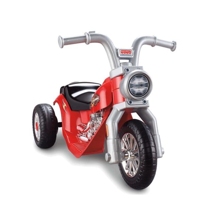 フィッシャープライス ハーレーダビッドソン リルハーレー 電動単車 6Vバッテリー付 対象年齢1~3才 電動カー Fisher-Price Power Wheels Harley-Davidson Lil' Harley 6-Volt Battery-Powered Ride-On