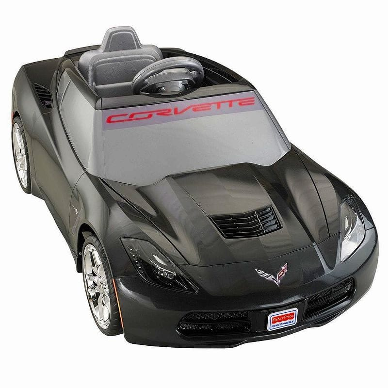 Alphaee Usa Fisher Price Wheels Deluxe Corvette 12 Volt Battery Ed Ride On With Wheel Corbett Train Movement Car
