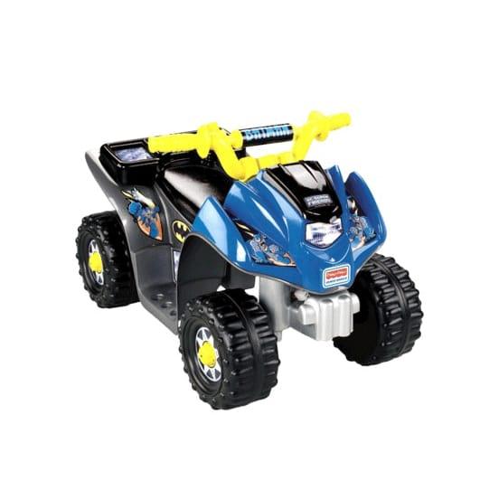 フィッシャープライスパワーホイール バットマン 電動自動車 6Vバッテリー付 電気自動車 Fisher-Price Power Wheels Batman Lil' Quad 6-Volt Battery-Powered Ride-On