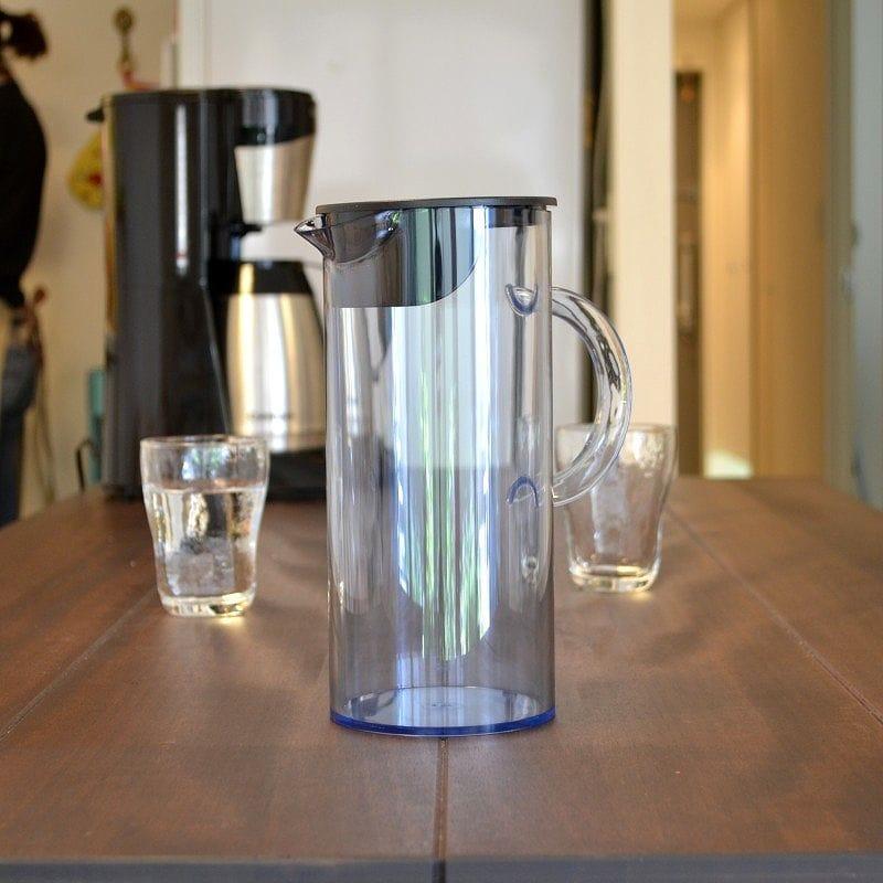 ステルトン クラッシックジャグ 約1.5L クリアブルー 水差し Stelton by Erik Magnussen 50.7 ounce Transparent Jug 1310