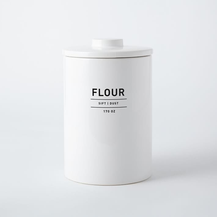 ユーティリティーキッチンキャニスター フラワーキャニスター 5L容器 Utility Kitchen Canisters Flour Canister