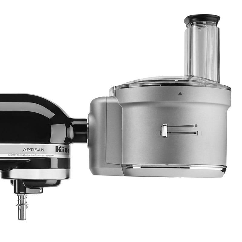 キッチンエイド フードプロセッサー スタンドミキサー用 コマーシャルスタイルダイシングキット シルバー KitchenAid KSM2FPA Food Processor with Commercial Style Dicing Kit, Silver