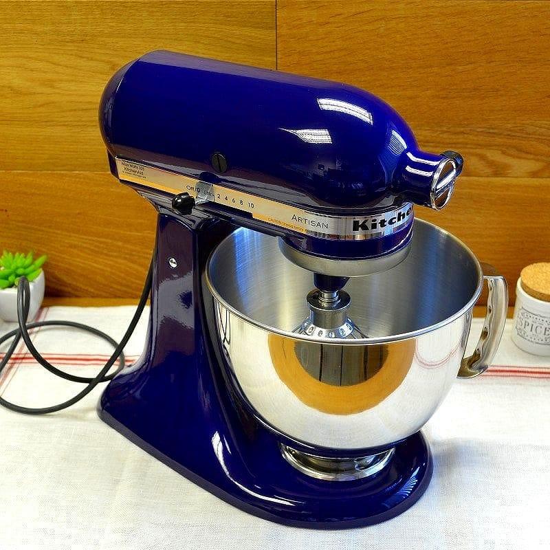 Kitchen aid stands mixer artisan 4.8L cobalt blue KitchenAid Artisan  5-Quart Stand Mixers KSM150PSBU Cobalt Blue
