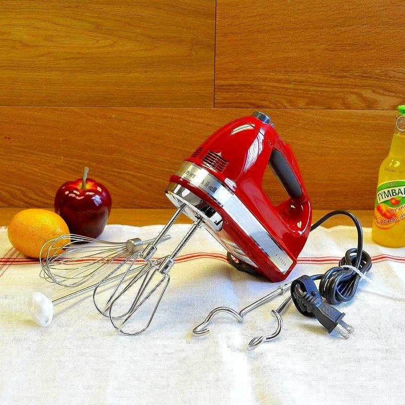 キッチンエイド ハンドミキサー 9スピード調整 KitchenAid 9-Speed Hand Mixer KHM926 家電