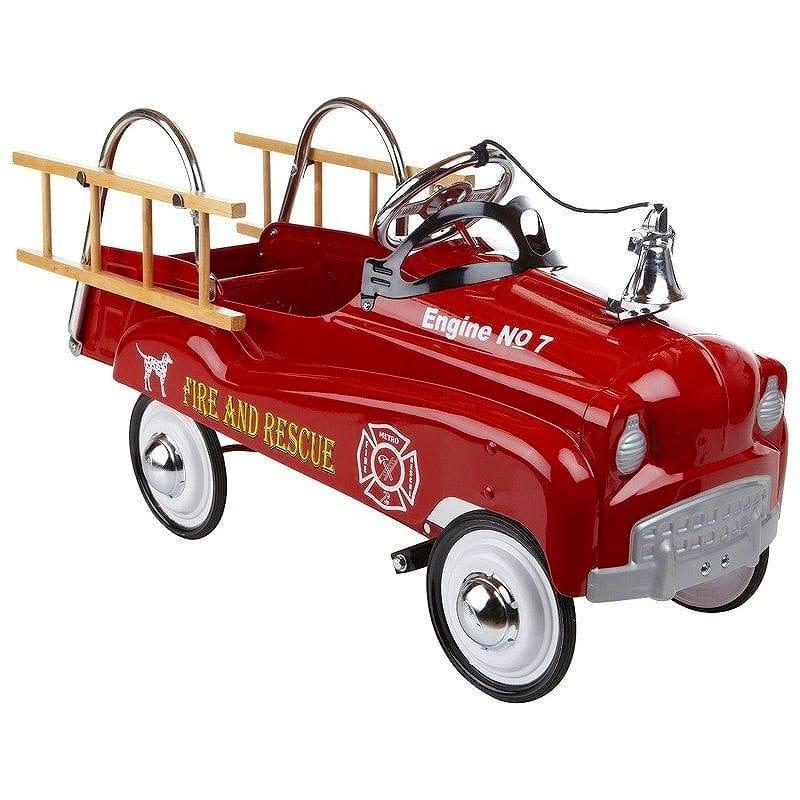 【組立要】 乗用玩具 レトロ ビンテージ 子供用 消防車 ペダルカー アンティーク InStep Fire Truck Pedal Car カリフォルニア 西海岸