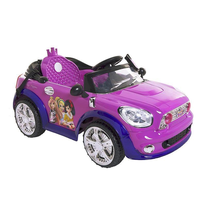 【組立要】フェアリーテール ハイクーペ 6ボルト バッテリー付電動自動車 対象年齢3才~8才 電気自動車 電動カー Fairy Tale High Coupe Girls' 6-Volt Battery-Powered Ride-On, Pink