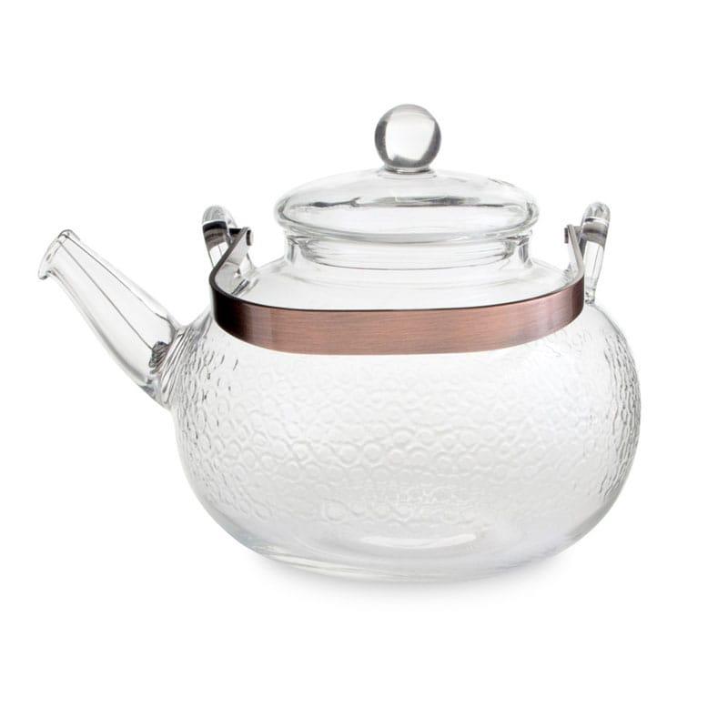 耐熱ガラス 直火 ガラス ティーケトル やかん 0.71LYama Glass Sassy Tea Kettle