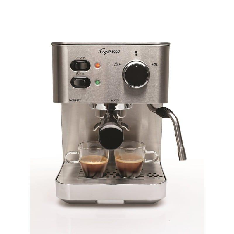 カプレッソ エスプレッソマシン 118.05 Capresso 118.05 EC PRO Espresso and Cappuccino Machine 家電
