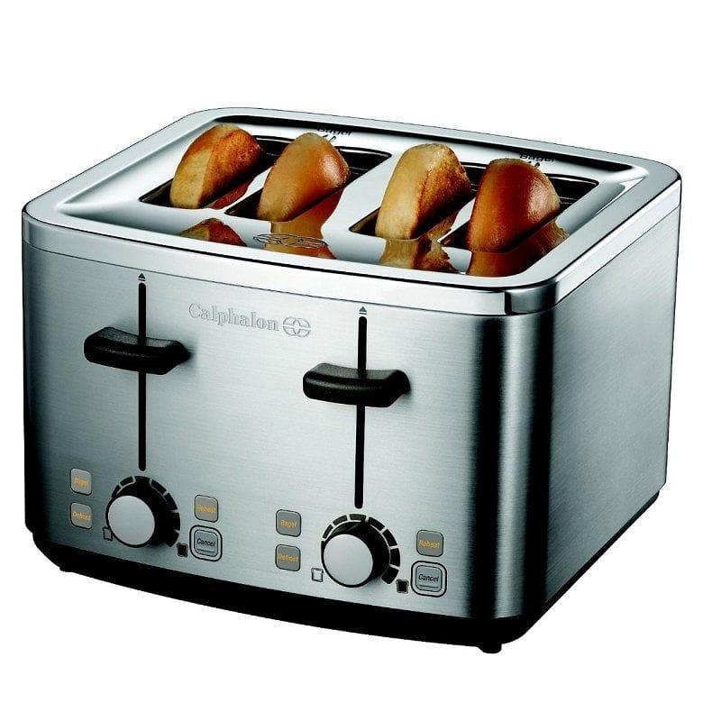 カルファロン Calphalon 4枚焼 トースター 4-Slot Toaster 家電