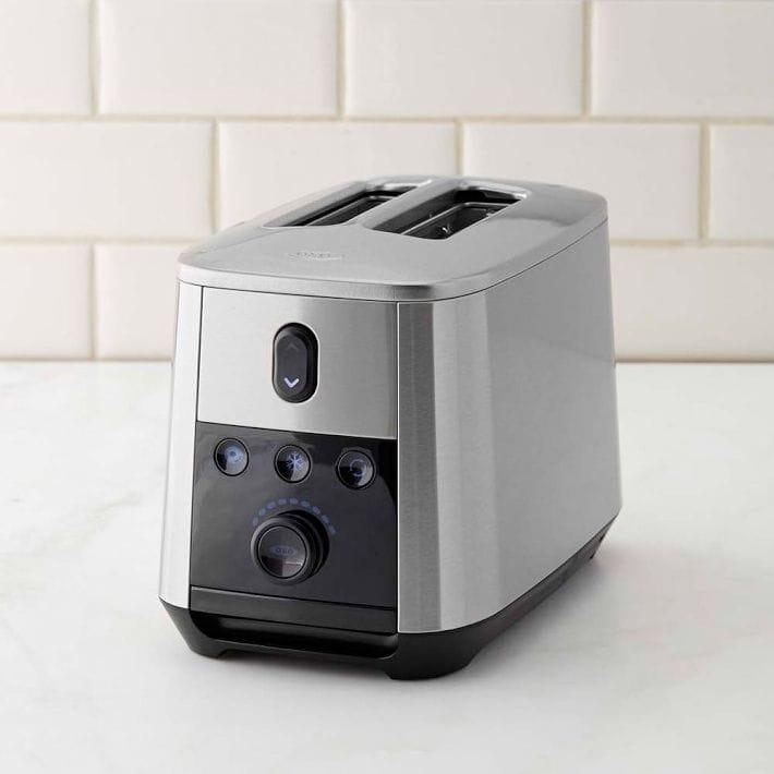 ウィリアムズソノマ オクソ 2枚焼 トースターWilliams-Sonoma OXO On 2-Slice Motorized Toaster 家電