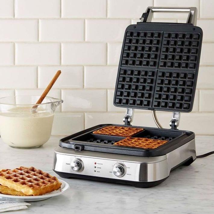 ブレビル スマート ワッフルメーカー 2枚焼 4枚焼 Breville Smart Waffle Maker BWM602BSS/BWM604BSS 家電