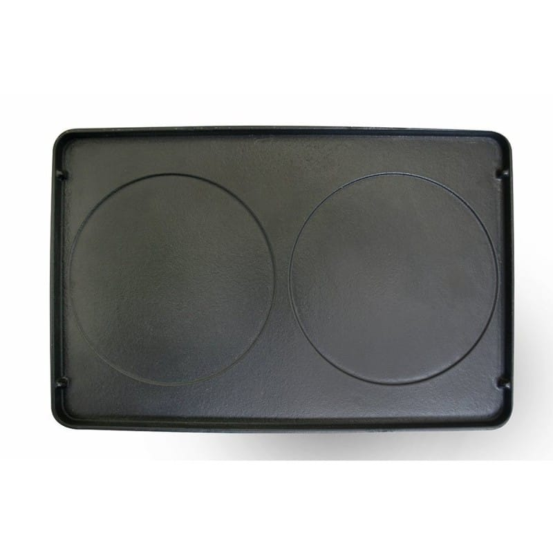 スイスマー リバーシブルプレート 鉄板 部品 パーツ Swissmar Reversible Cast Iron Grill Plate for Raclettes KF-77047