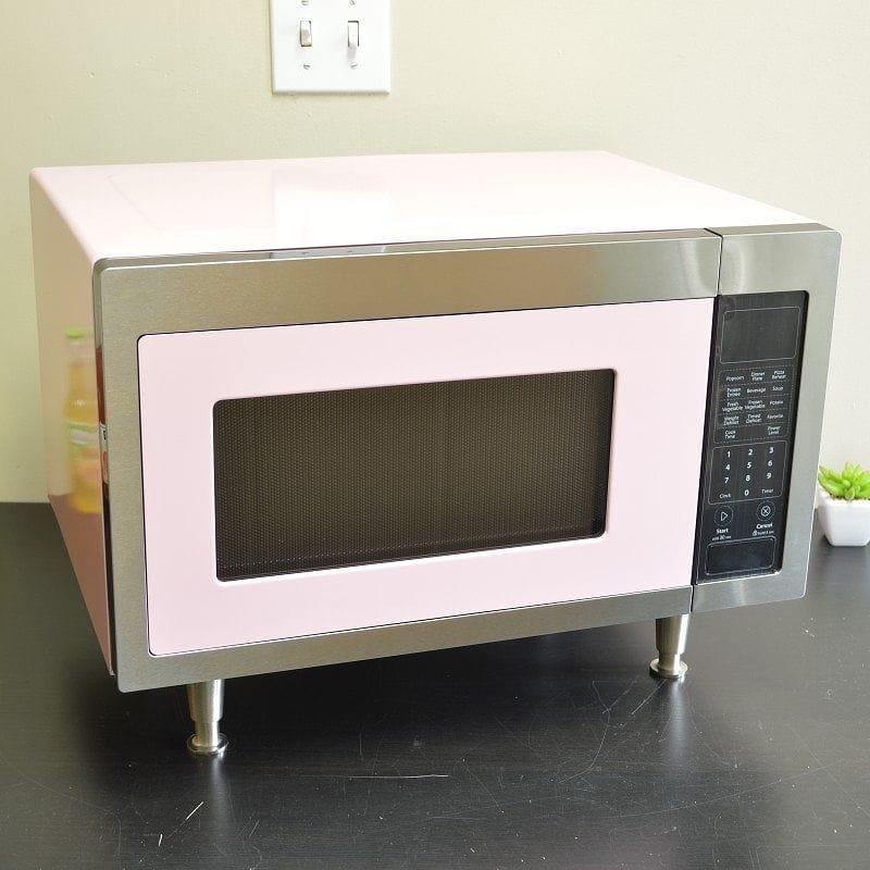 ビックチリ レトロ電子レンジ ピンクレモネード Big Chill Retro Microwave Pink Lemonade【日本語説明書付】 家電