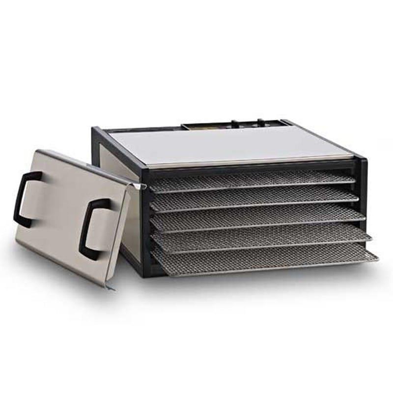 【訳あり】ローフード エクスカリバー 食品乾燥機 5トレイ 26時間タイマー付 Excalibur 5-Tray Stainless Steel w/Stainless Trays 家電