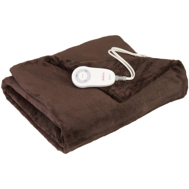 Alphaespace USA Sunbeam Electric Blanket Heat Blanket Sunbeam Awesome Heating Blanket Throw