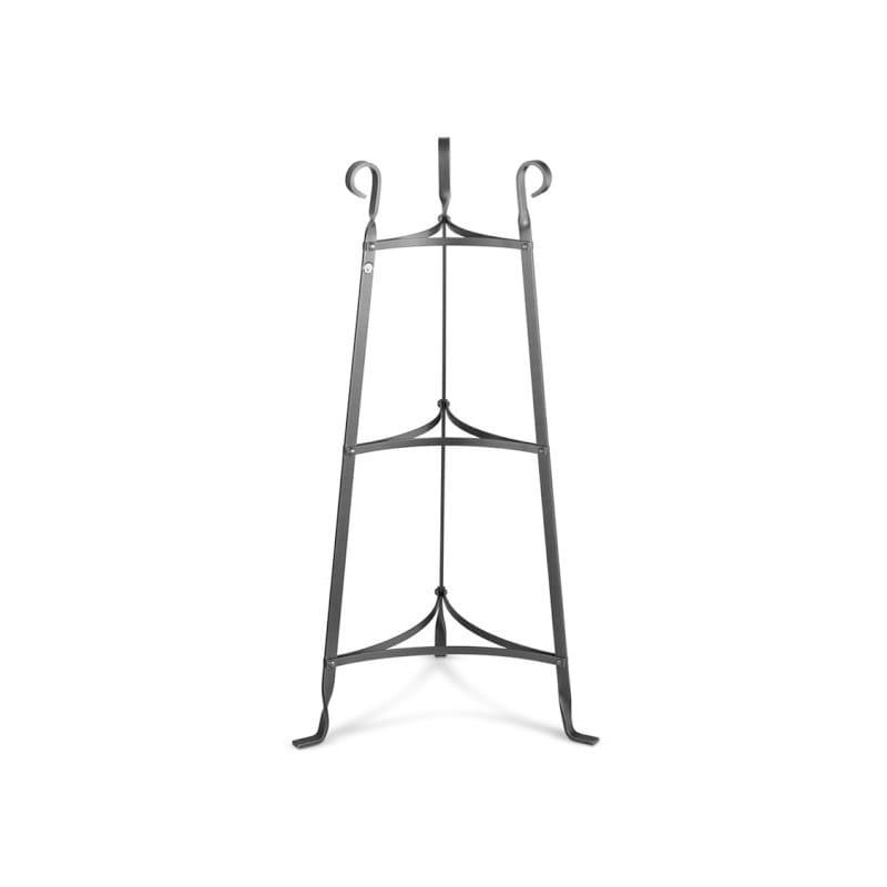 クックウェアスタンド 鍋置き棚 3段 Enclume Cookware Stand, 3-Tier, Hammered Steel