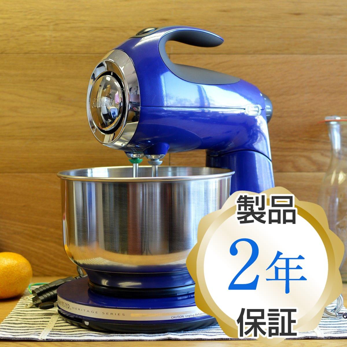 サンビーム ヘリテージ シリーズ 350ワット スタンドミキサー インディゴブルー 特殊メイクにも Sunbeam Heritage Series 350-Watt Stand Mixer Indigo Blue FPSBSM210B 家電