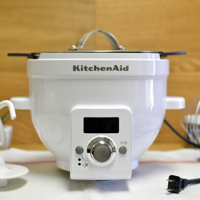 キッチンエイド チルトヘッドタイプ スタンドミキサー用 ヒートミキシングボウル KSM150に適合 KitchenAid KSM1CBT Precise Heat Mixing Bowl For Tilt-Head Stand Mixers
