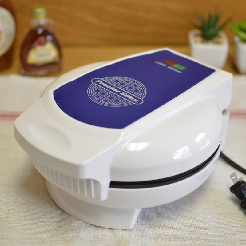 プロクター サイレックス ベルギーワッフルメーカー 丸型 Proctor Silex 26070 Belgian Waffle Baker 家電