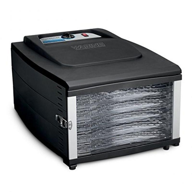 ワーリング ディハイドレーター 食品乾燥器 Waring DHR50 6 Tray Food Dehydrator, Black 家電